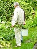 geeignete Gartenbekleidung