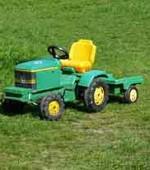 Gartenwerkzeug Traktor